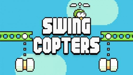 Swing Copters — от создателя Flappy Bird